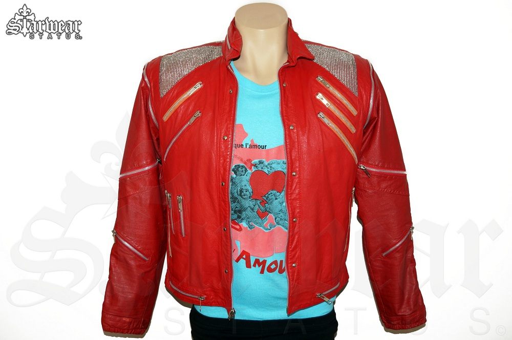 Michael jackson leather jacket