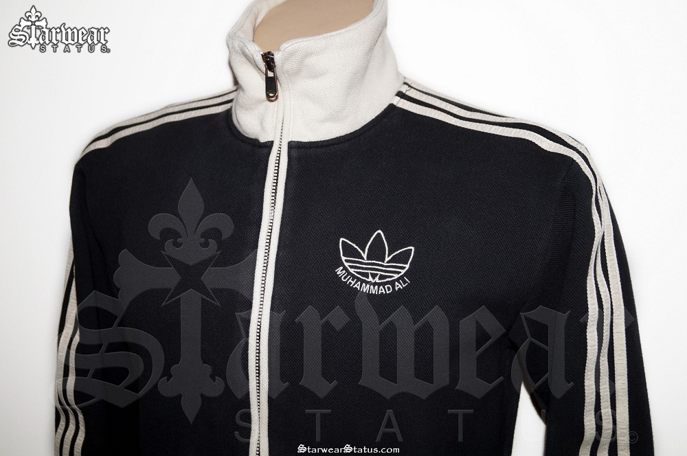 adidas originals black and white jacket