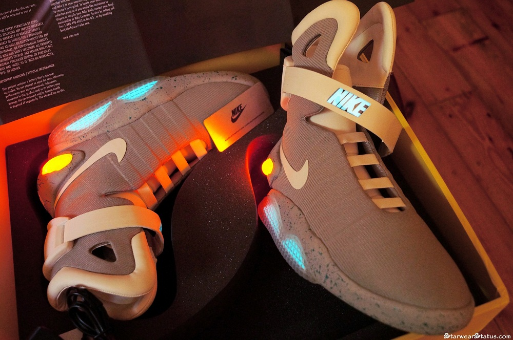 Back To The Future Lace Up Shoes