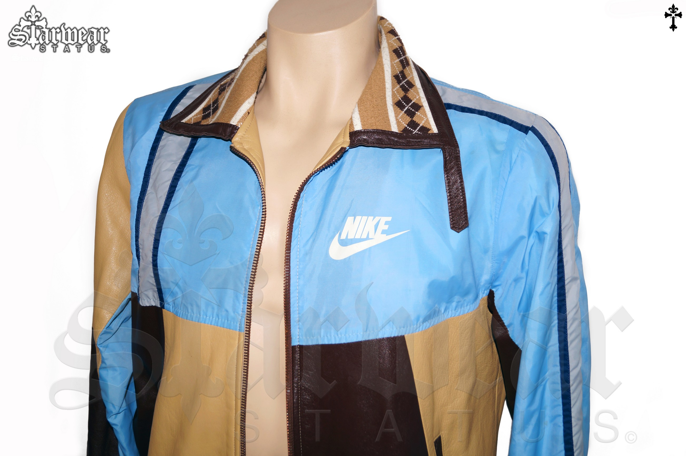 nike air jacket blue