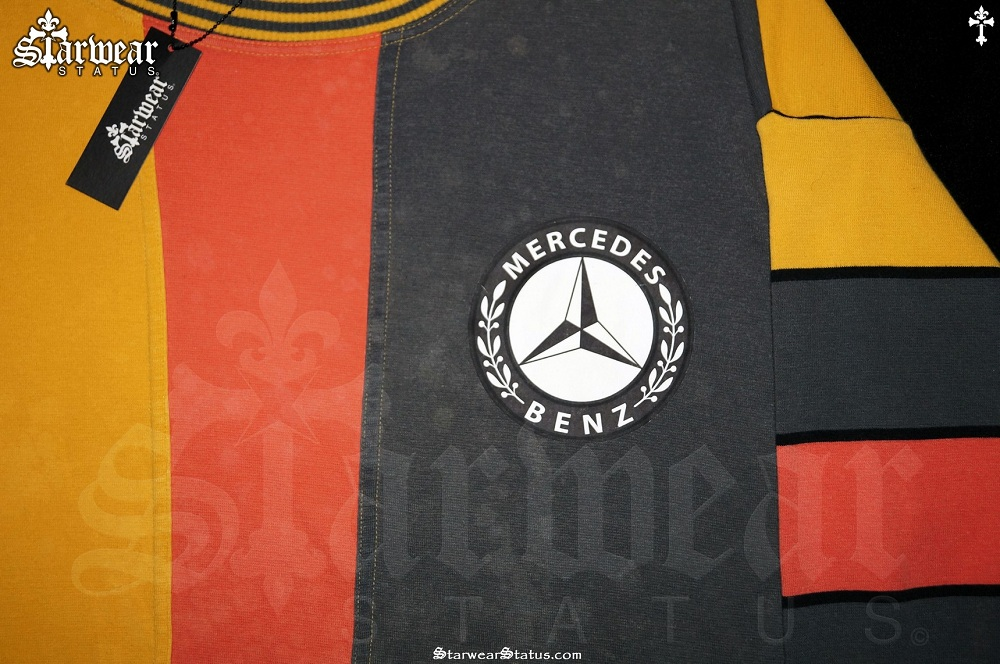 Adidas x mercedes benz west germany vintage tracksuit for Mercedes benz sweater